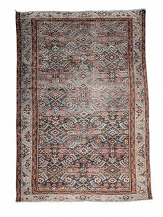 This gorgeous vintage malayer scatter rug features an all-over large-scale herati water field design in a hard-to-find deep teal. Its size makes its a perfect addition to any entryway, bathroom, or other home nook. Pattern, color variation, and signs of wear and repair with vintage items is normal. Vintage Rugs, Vintage Shops, Vintage Items, Deep Teal, Teal Blue, Scatter Rugs, Carpet Cleaning Machines, Rug Features, Or Antique