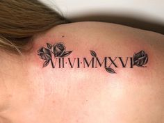 These Roman numeral tattoo ideas are all the inspiration you need to get inked. Mutterschaft Tattoos, Baby Tattoos, Couple Tattoos, Small Tattoos, Arabic Tattoos, Bodysuit Tattoos, Sleeve Tattoos, Simple Hand Tattoos, Knuckle Tattoos