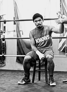 Manny Pacquiao, ladies and gentlemen.
