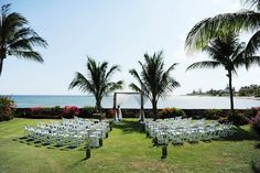 Sunset Bay wedding ceremony by Parfait Weddings & Events, Grand Cayman