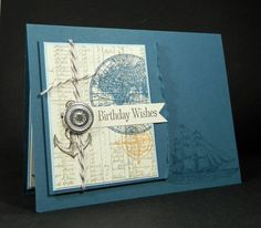 SUO Nautical Birthday Wishes by J_Belanger - Cards and Paper Crafts at Splitcoaststampers