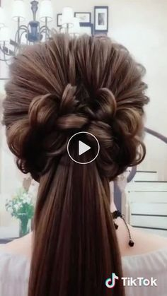 Yamathi has just created an awesome short video with クリスマスソング - Peinados Fast Hairstyles, Braided Hairstyles, Wedding Hairstyles, Popular Hairstyles, Pretty Hairstyles, Curly Hair Styles, Natural Hair Styles, Pinterest Hair, Long Hair Cuts