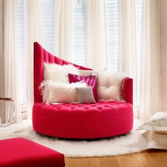 Sunset Lounge Chaise - Gorgeous pink! see the whole range at www.sovereigninteriors.com.au #madeinUSA #luxury #contemporary
