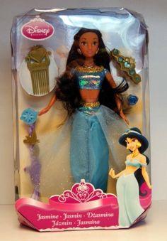 """Disney - Princesse conte de fées - Poupée - Jasmine - avec beaucoup d'accessoires - ca. 12"""" / 30 cm de Simba Toys,"""
