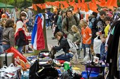 Queensday is no longer, starting next year. We then welcome you to Kingsday in Amsterdam.