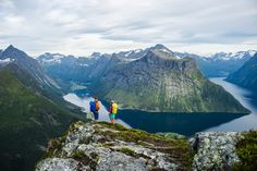 Hiking in Norway - Hjørundfjorden