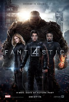 """Change Is Coming"" On New FANTASTIC FOUR Poster Featuring Marvel's First Family United"