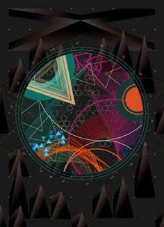 Experimental Geometry Graphic by Mike Hung (Hong Kong, PRC) : free wallpaper downloads on the page