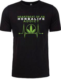 57d0985c4 Herbalife Heart Beat Men s by TriplesunStudios on Etsy