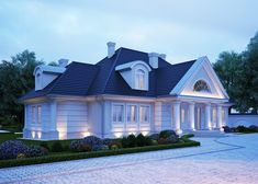 LK&562 - projekt domu jednorodzinnego w stylu nowoczesnym