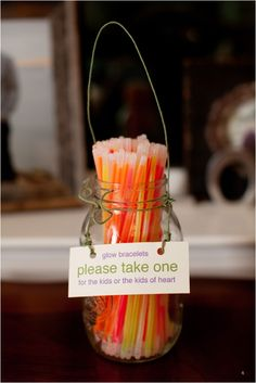 These are great for farm weddings, they can help you keep track of the kids outside playing!