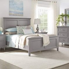 Weston Home Chelsea Lane Elise Queen Size Bed, Multiple Colors Bed Frame And Headboard, Wood Headboard, Bed Frames, Cheap Bedding Sets, Queen Bedding Sets, Couches, Bedroom Sets, Bedroom Decor, Master Bedroom