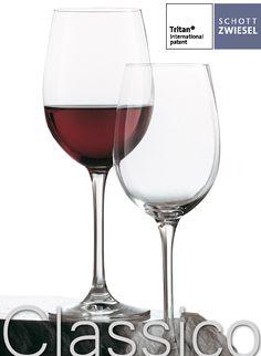 Copa CLASSICO. Elegancia y porte en la mesa. #Copa de #mesa de borde fino creada por #Schott Zwiesel. Esta serie es, como su nombre indica, un conjunto de copas de #vino de diseño #clásico desarrollada con elegantes #curvas. Disponible desde 4,97€/unidad en http://www.tiendacrisol.com/tienda.php?Id=157