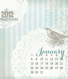DHD Designer Calendar Blog Hop.... start here & then go to 11 more sites to download each month of the calendar. This first site has a lot of good free downloads!