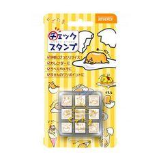 Gudetama Rubber Stamp Set or  Totoro Rubber Stamp SEt  by JapanPop