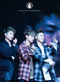 iKON Junhoe, Yunhyeong, & B.I