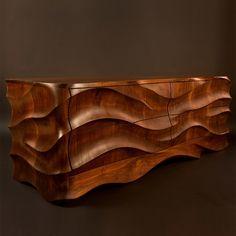 Weird Furniture, Timber Furniture, Woodworking Furniture, Unique Furniture, Furniture Decor, Furniture Design, Furniture Storage, Carved Wood Wall Art, Wooden Art