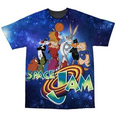 Space Jam Tshirt by EverythingsDope on Etsy