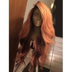 Long Deep Side Part Shaggy Layered Wavy Synthetic Wig Side Capless (Machine-Made)