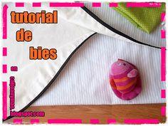 Cal Joan y mas: TUTORIAL DE BIES Blog, Diy, Sewing, Sewing Lessons, Zippers, Tutorials, Fabrics, Tejidos, Patterns
