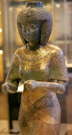 Karomama Meritmut was an ancient Egyptian high priestess, a God's Wife of Amun during the 22nd Dynasty.