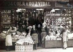 BARCELONA, AHORA Y SIEMPRE: ANTIGUOS COLMADOS DE BARRIO