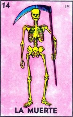 La Muerte: La muerte sirqui siaca. - Skinny death.