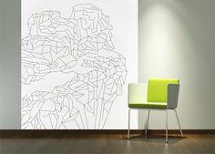 Wallpaper Rock / designed by Jolana Sýkorová / € / www. Rock Design, Wallpapers, Home Decor, Decoration Home, Room Decor, Wallpaper, Home Interior Design, Backgrounds, Home Decoration