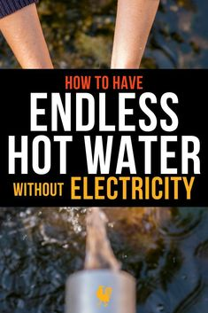 When an emergency strikes how can you ensure that you have an endless supply of hot water even when there is no electricity? Endless hot water without electrici Emergency Preparedness Kit, Emergency Preparation, Survival Prepping, Survival Skills, Off Grid Survival, Survival Gear, Homestead Survival, Wilderness Survival, Survival Shelter