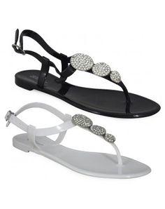 Beautiful Silver Summer Ladies Flip flops size 5