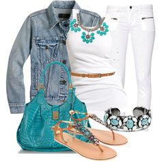 Turquoise Accents :)