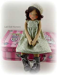 Diana will be available for auction this Friday Jan 10th waldorf doll