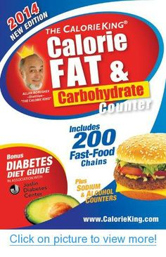 The CalorieKing Calorie, Fat $ Carbohydrate Counter 2014: Pocket-Size Edition