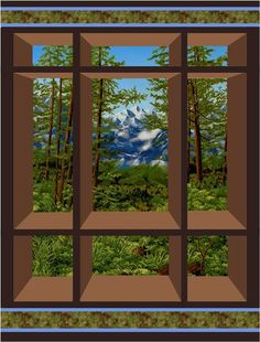 Window on the East Quilt Pattern CS-01
