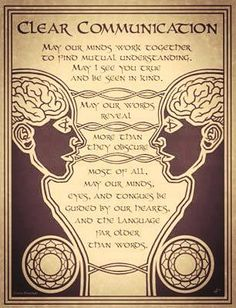 Wicca Prayer For Clear Communication Poster Size Wicca Pagan Witch Book Of Shadows Tarot, Magick Spells, Witchcraft, Wiccan Spells Love, Hoodoo Spells, Healing Spells, Clear Communication, Effective Communication, Communication Skills