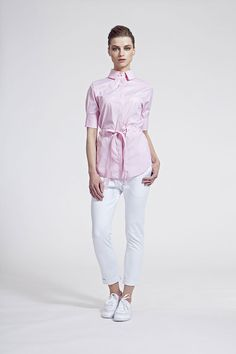 IMRECZEOVA SS16 light pink shirt