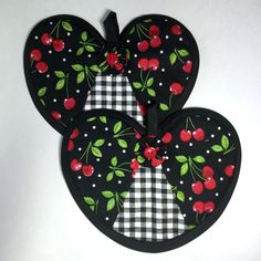 A personal favorite from my Etsy shop https://www.etsy.com/listing/235864199/cherry-heart-hot-pad-pair-black