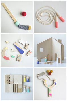 Beautiful wooden toys | Dans la Shed