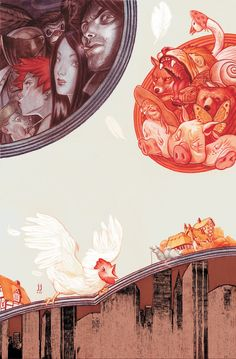 Art by James Jean | Fables #6 ( graphic novels By Bill Willingham)