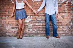 @Sarah LaBelle! This would be such a cute outfit for you!! Engagement photos outfit