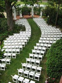 Pretty garden wedding