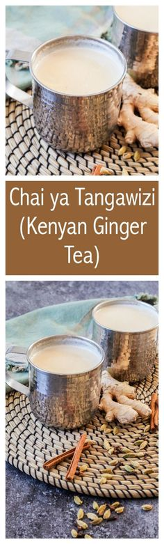 Chai ya Tangawizi is a soothingginger tea from Kenya. Tea was first introduced to countryin 1903 and Kenya has grown to become one of the largest tea exporters in the world.There are a few diffe…