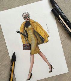Textiles Sketchbook, Fashion Design Sketchbook, Fashion Design Drawings, Next Fashion, Fashion Tv, Fashion Illustration Sketches, Fashion Sketches, Dress Sketches, Fashion Portfolio