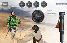 Voyager Trekking Pole Concept by Robb McCollough at Coroflot.com