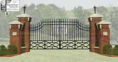 http://appalachianironworks.com/imagesDigital Estimate for massive estate entrance gate