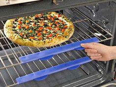 silicone oven shield - duh!