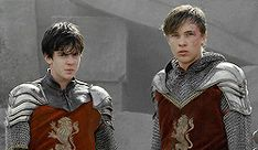 "I love the look of loyalty on Edmund face It says ""I'm with you"" without words."