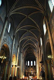 Saint-Germain-des-Prés (abbey) - Wikipedia Saint Germain, Paris Saint, Vatican City, Catholic, Saints, Paris France, Nature, Writer, Teacher