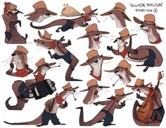 Silver by Sydsir.deviantart.com on @DeviantArt #characterdesign #otter #sheridananimation heres my last character design assignment of the year He's changed so much from this  in a secret relationship with scrii's character
