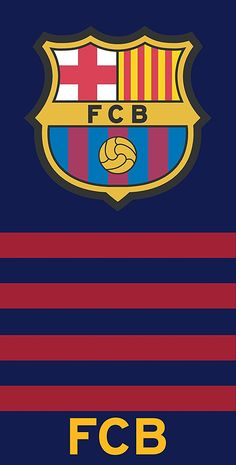 100% Coton FC Barcelone Serviette de bain- Drap de plage